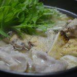 豚バラと水菜のハリハリ風鍋
